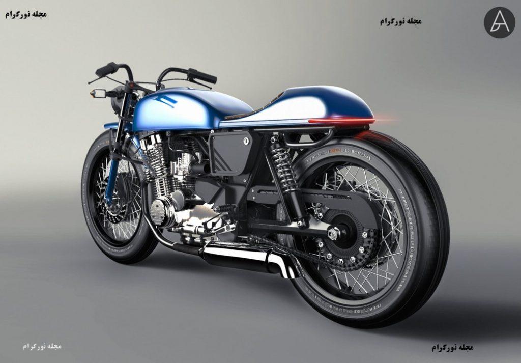 طرح مفهومی موتور سیکلت3