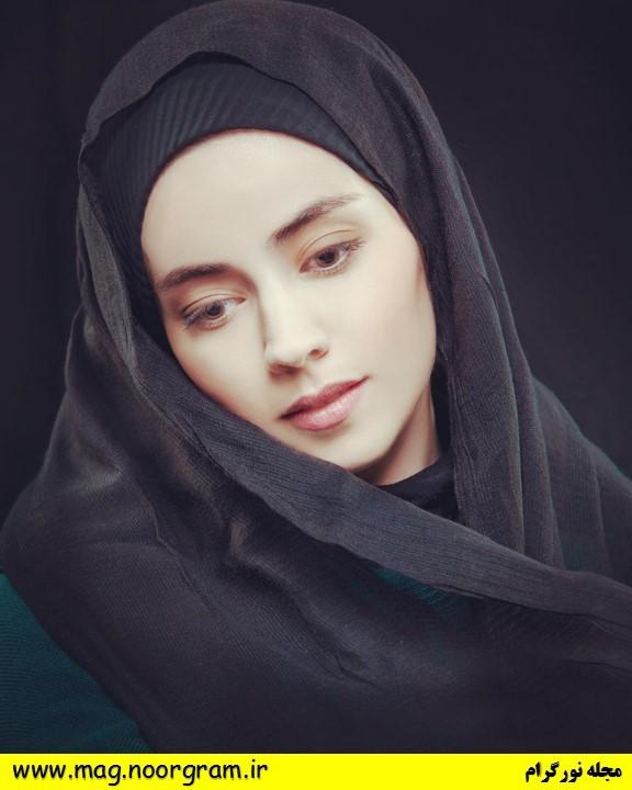 بازیگر نقش الهام در سریال ممنوعه تصاویر مجله نورگرام