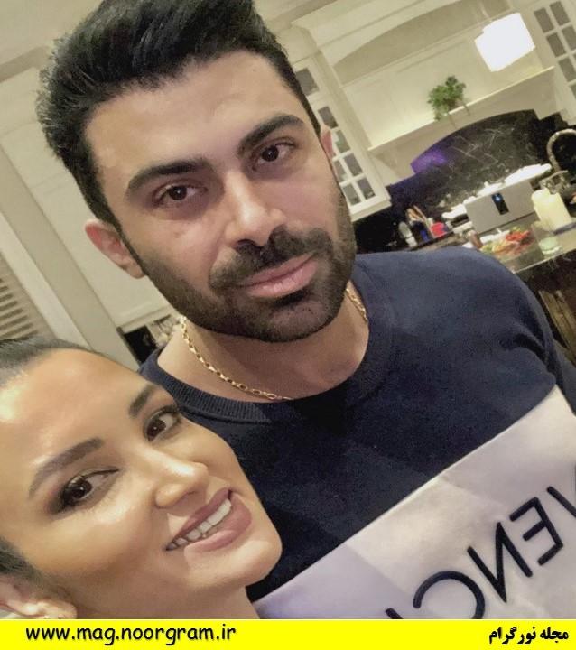 روناک یونسی و همسر