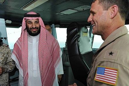 نیرو های امریکایی حاضر در عربستان