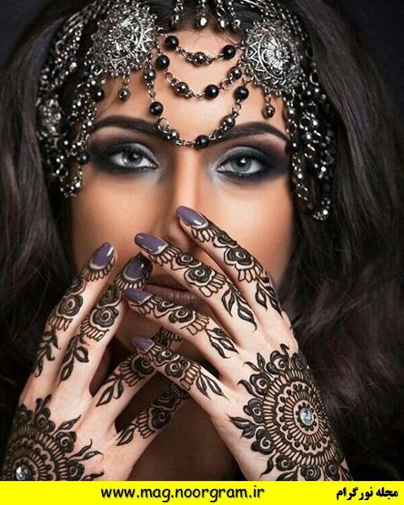 آرایش عربی حرفه ای