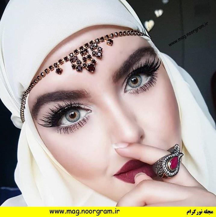 آرایش عربی چشم