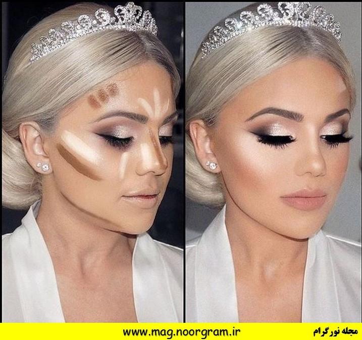 آرایش عروس حرفه ای