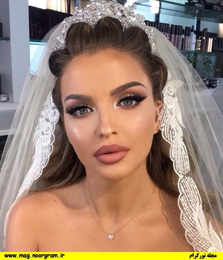 آرایش عروس لایت