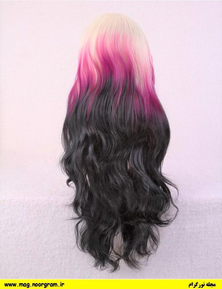 رنگ موی فانتزی جدید