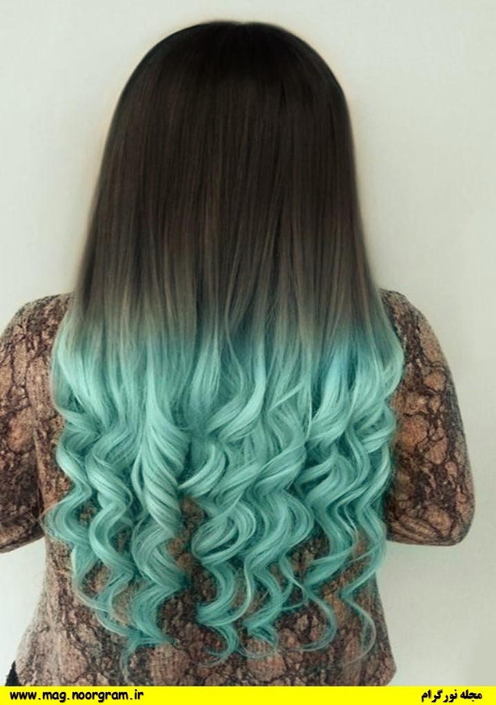 رنگ مو های فانتزی