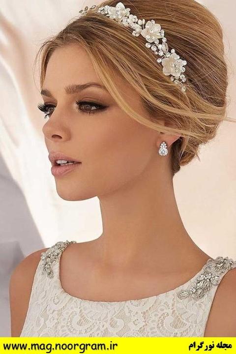 نمونه آرایش عروس
