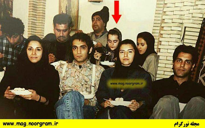 عکس قدیمی نعیمه نظام دوست