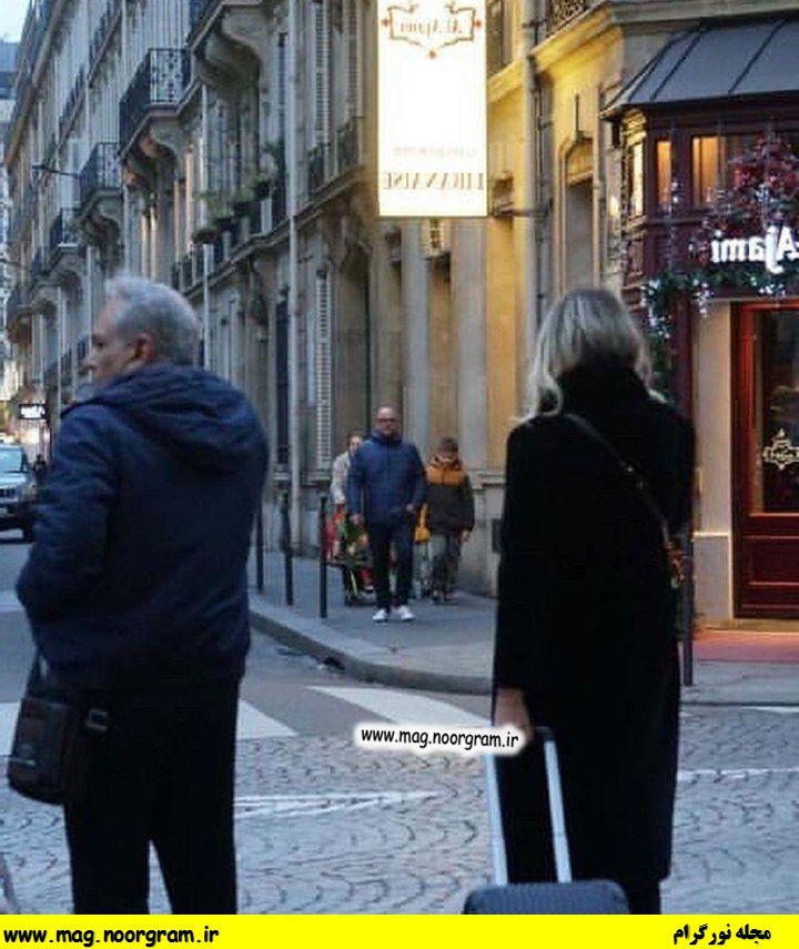 عکس مهران مدیری در پاریس