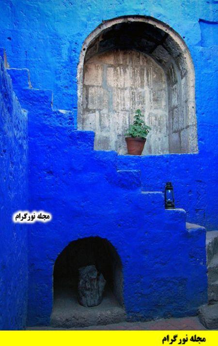 آبی درباری چه رنگیه