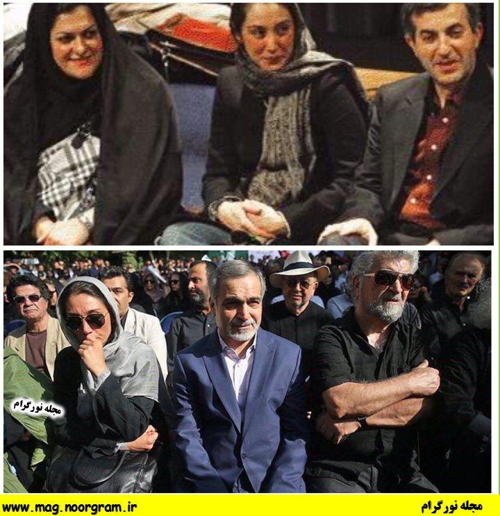 رحیم مشایی و هدیه تهرانی