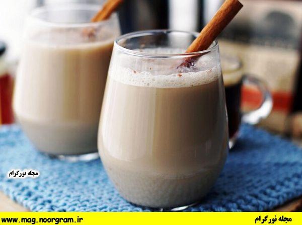 فواید شیر دارچین