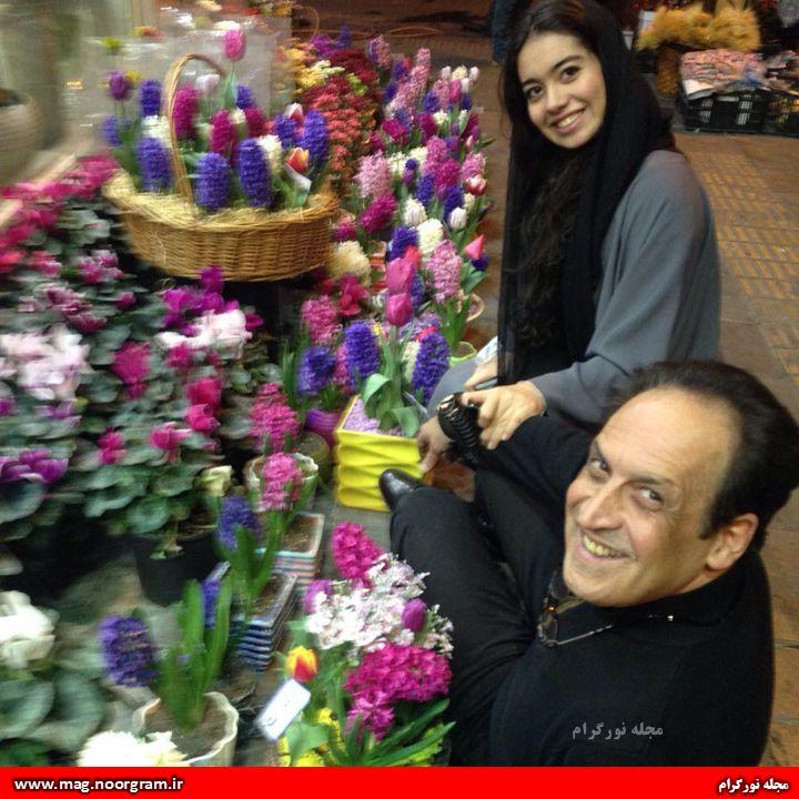 بهمن هاشمی و دخترش