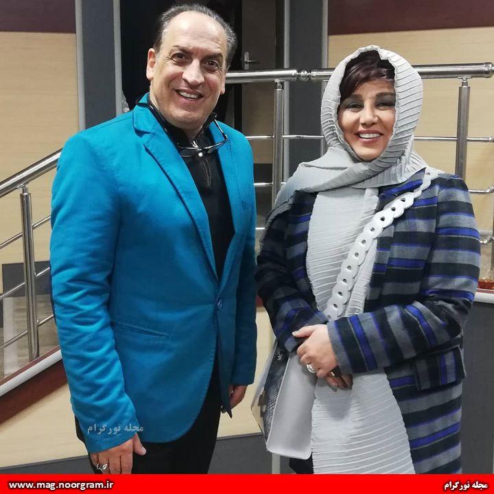 بهنوش بختیاری و بهمن هاشمی