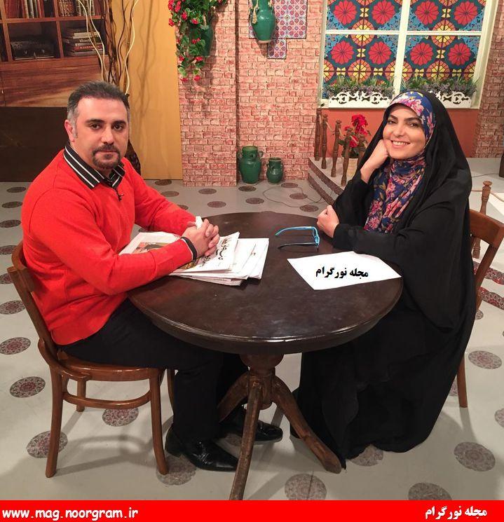 مجری رویا حسینی