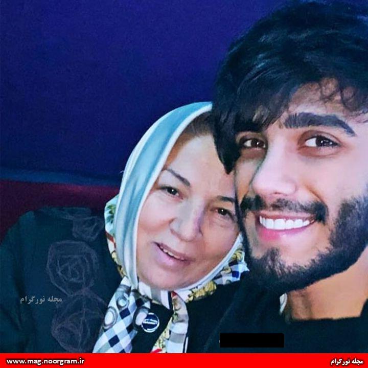 مهراد جم و مادرش