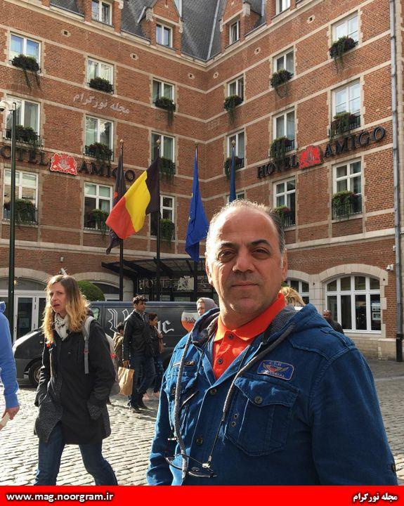 جواد افشار در بلژیک