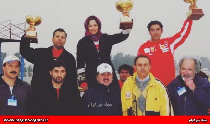 عکس قدیمی لاله صدیق