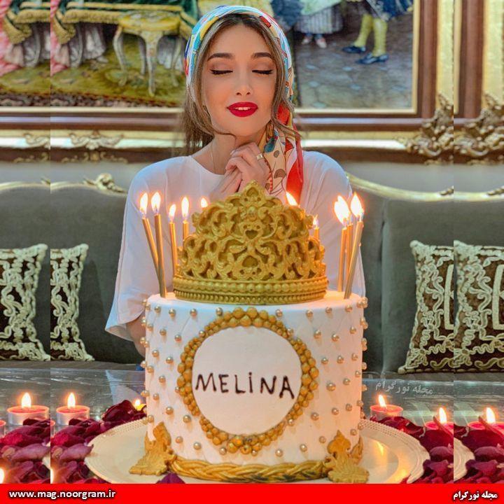 تولد ملینا تاج