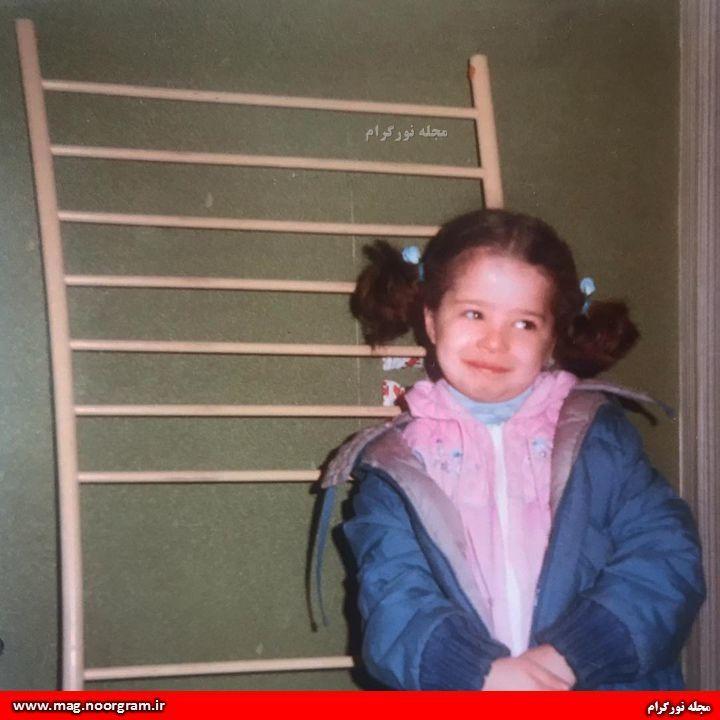 کودکی مهراوه شریفی نیا