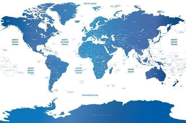 نقشه جهان کیفیت عالی