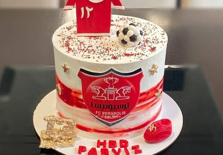 کیک تولد پرسپولیسی