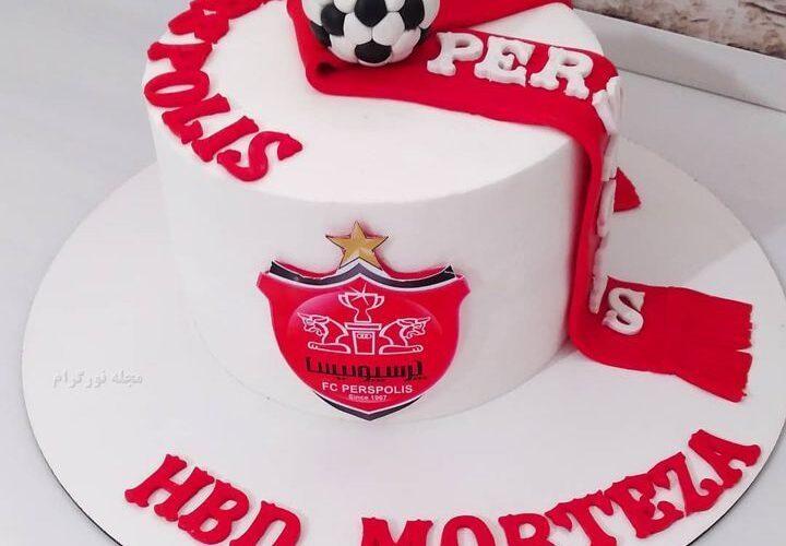 کیک تولد پرسپولیس