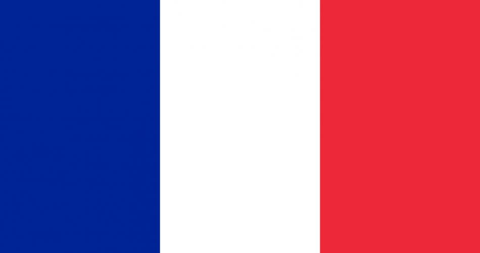 پرچم فرانسه کیفیت بالا